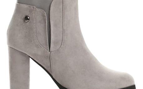 Dámské šedé kotníkové boty Bridie 1341