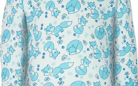 G-MINI Prima Pyžamo dvoudílné Liška A, vel. 92 – modrá