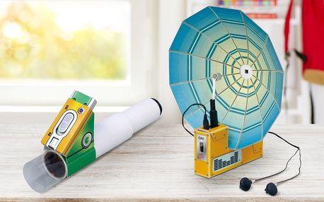 Stavebnice pro děti: odposlech nebo mikroskop