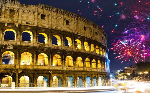 Báječný Silvestr v Římě s ubytováním na 1 noc