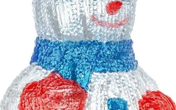 Vánoční osvětlení RETLUX RXL 254 sněhulák 30LED CW TM