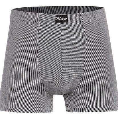 Pánské boxerky - nadměrná velikost černá