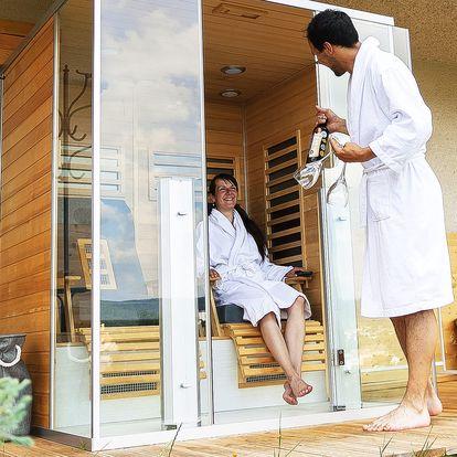 Dvě noci se soukromou vířivkou a masážní infra saunou v Moravském krasu