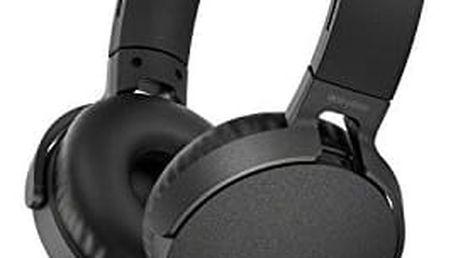 Sony MDR-XB550AP, černá MDRXB550APB.CE7