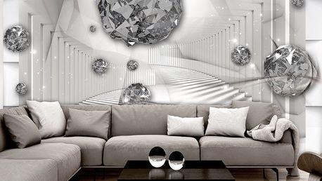 Bimago Fototapeta - Diamond Chamber 300x210 cm