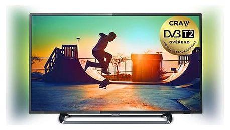 Televize Philips 55PUS6262/12 stříbrná + DOPRAVA ZDARMA
