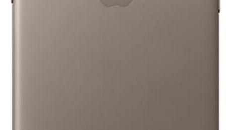 Kryt na mobil Apple Leather Case pro iPhone X - kouřový (MQT92ZM/A)