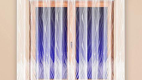 4Home Záclona Galina 300 x 180 cm, 300 x 180 cm
