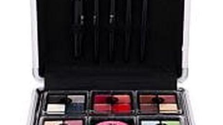 2K Complete Beauty Train Case dekorativní kazeta dárková sada W - Complete Makeup Palette