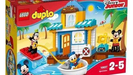 Stavebnice LEGO® DUPLO Disney 10827 Mickey a jeho kamarádi v domě na pláži + Doprava zdarma