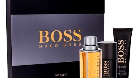 HUGO BOSS Boss The Scent EDT dárková sada M - edt 100 ml + sprchový gel 50 ml + deostick 75 ml