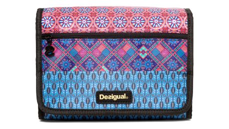 Desigual modro-fialová kosmetická taška Hanging Birmania
