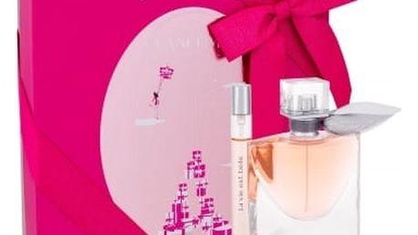 Lancome La Vie Est Belle dárková kazeta pro ženy parfémovaná voda 50 ml + parfémovaná voda 10 ml