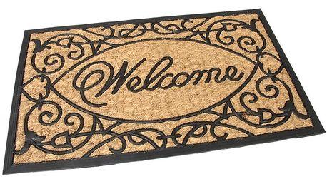 Flomat Venkovní rohožka kokosová Welcome, 45 x 75 cm
