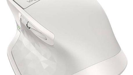 Myš Logitech MX Master 2S - light grey (910-005141) Dárek Logitech – Gillette Fusion Proglide Flexball + Doprava zdarma