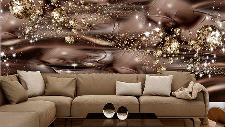 Bimago Fototapeta - Chocolate River 250x175 cm