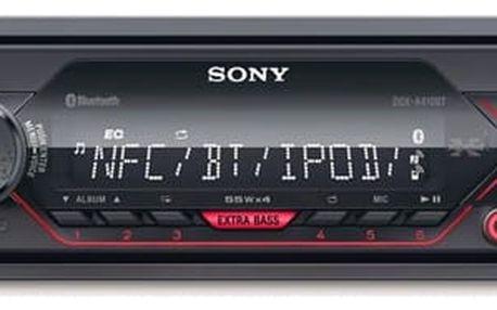 Autorádio Sony DSX-A410BT černé + DOPRAVA ZDARMA