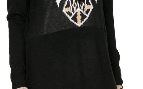 Desigual černé dámské šaty Neltu