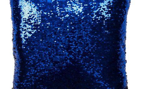 Jahu Polštářek Magic modrá 40 x 40 cm