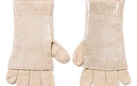 Desigual zlaté rukavice Bling Bling