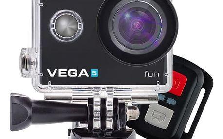 Outdoorová kamera Niceboy VEGA 5 fun + dálkové ovládání (vega-5-fun) černá