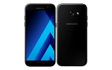 Mobilní telefon Samsung Galaxy A5 (2017) (SM-A520FZKAETL) černý Paměťová karta Kingston MicroSDHC 16GB UHS-I U1 (45MB/s) (zdarma) + Doprava zdarma