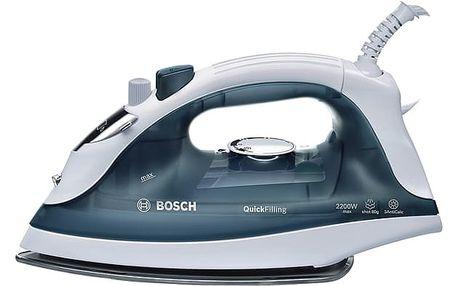 Žehlička Bosch TDA2365 šedá/bílá/modrá