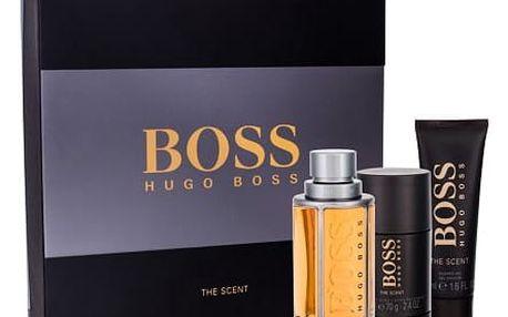 HUGO BOSS Boss The Scent EDT dárková sada M - edt 100 ml + sprchový gel 50 ml + deostick 75 ml