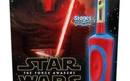 Zubní kartáček Oral-B Vitality Star Wars + penál Plyšová hračka ANGRY BIRDS