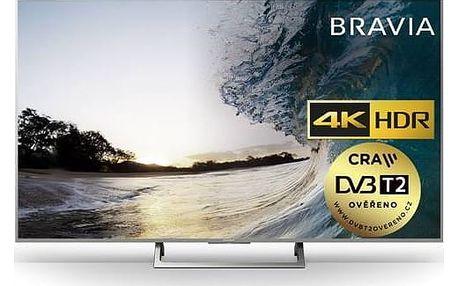 Televize Sony KDL-55XE8577S stříbrná + Doprava zdarma