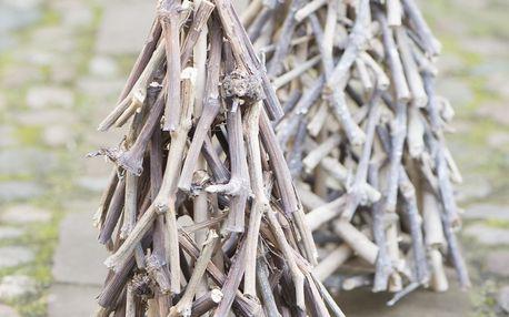 IB LAURSEN Dekorativní stromek Christmas 40 cm, hnědá barva, dřevo