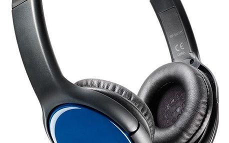 Sluchátka na uši Pioneer SE-MJ711-L modrá/černá