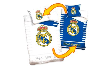 Tip Trade povlečení Real Madrid Double, 140 x 200 cm, 70 x 80 cm