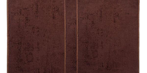 4Home Sada Bamboo Premium osuška a ručník hnědá, 70 x 140 cm, 2x 50 x 100 cm