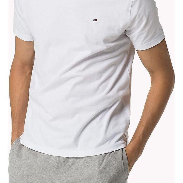 Tommy Hiliger bílé pánské tričko Tee Icon