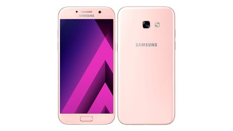 Mobilní telefon Samsung A5 (2017) (SM-A520FZIAETL) růžový + DOPRAVA ZDARMA