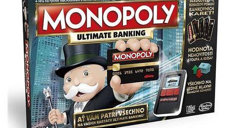 Hra Hasbro Monopoly ultimate banking + Doprava zdarma