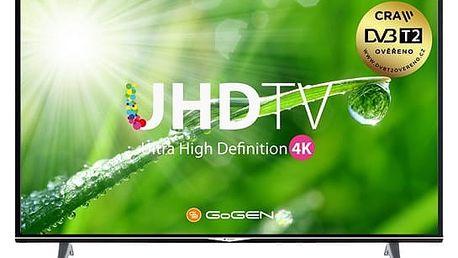 Televize GoGEN TVU 40S298 STWEB černá + DOPRAVA ZDARMA