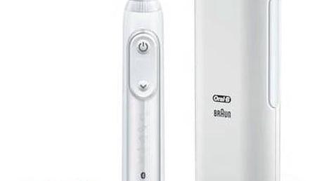 Zubní kartáček Oral-B Genius PRO 9000 white bílý Ústní sprcha Oral-B Oxyjet MD20 (zdarma) + Doprava zdarma