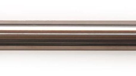 Gardinia Roztažitelná garnýž ocel Koule, 120 - 210 cm