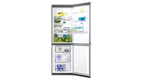 Kombinace chladničky s mrazničkou Zanussi ZRB36104XA nerez + DOPRAVA ZDARMA