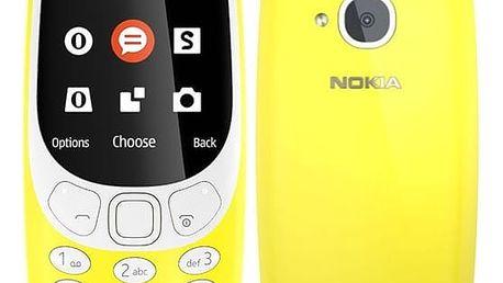 Mobilní telefon Nokia 3310 (2017) Dual SIM (A00028674) žlutý