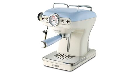 Espresso Ariete Vintage ART 1389/15 modré + DOPRAVA ZDARMA