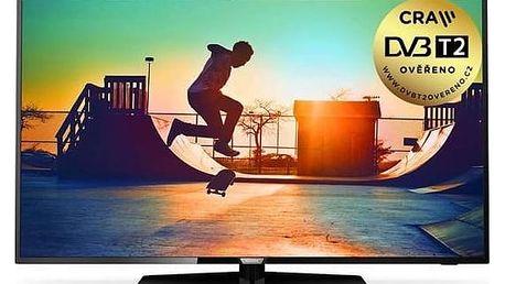 Televize Philips 50PUS6162/12 černá + Doprava zdarma