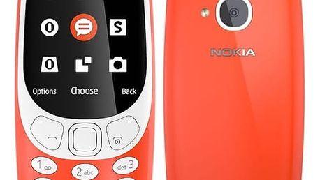 Mobilní telefon Nokia 3310 (2017) Single SIM (A00028219) červený