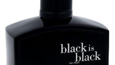 Nuparfums Black is Black 100 ml toaletní voda pro muže
