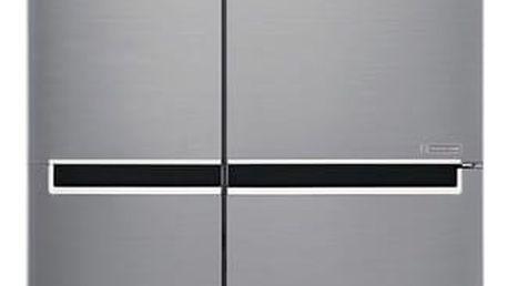 Kombinace chladničky s mrazničkou LG GSB760PZXZ nerez + DOPRAVA ZDARMA