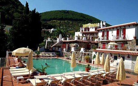 Itálie, Ischia, letecky na 8 dní