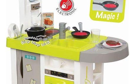 SMOBY Kuchyňka elektronická Bon Appetit Cherry, zeleno-šedá