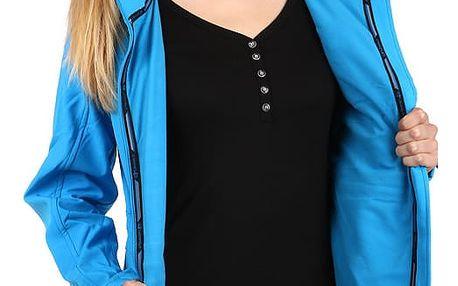Úžasná bunda na zip s kapsami modrá